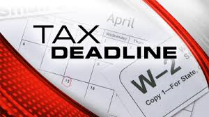 Tax Deadline for 2016 for most filers will be Monday April 18th - RRBB ...